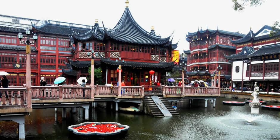 Shanghai - Giardino del Mandarino Yu, Yu Yuan
