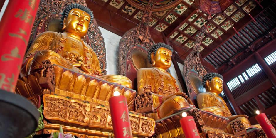 Shanghai - Tempio del Buddha di Giada, Yufo Sì