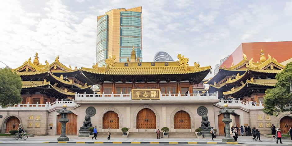 Shanghai - Tempio della Pace, Jing'an Sì